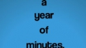 A Year Of Minutes (Fourth Wall Theatre)