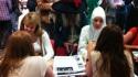 Fringe performers meet the media
