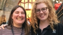 The Venue Directors: Esmée Cook and Katrina Woolley from Bedlam Fringe