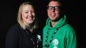 Tara Kilbourne and Darren Neale, Greenside: The Venue Directors