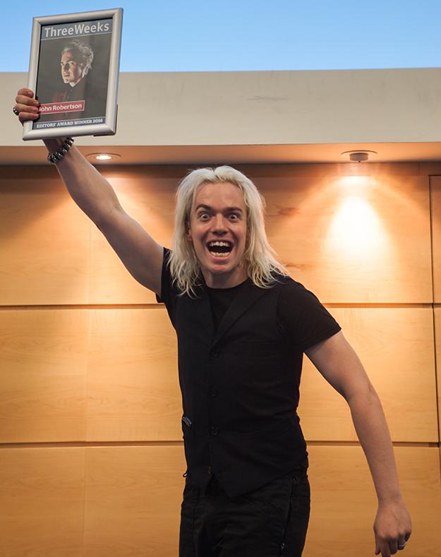 Editors' Awards John Robertson
